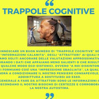 TRAPPOLE COGNITIVE (parte 1)