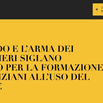 l'Arma dei Carabinieri istituzionalizza la formazione degli anziani all'uso del digitale