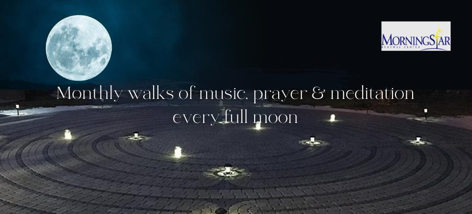 Moonlight Prayer Labyrinth Walk