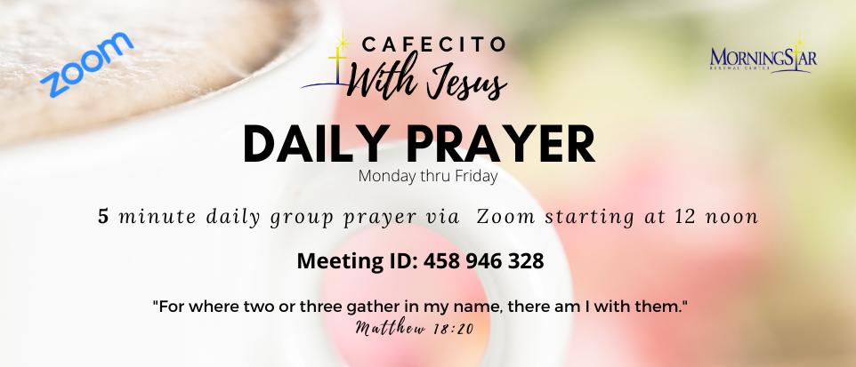 Cafecito with Jesus