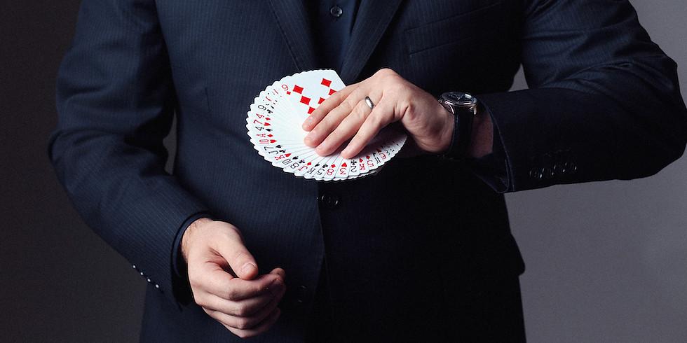 Magician & Mentalist Harrison Kramer From NYC