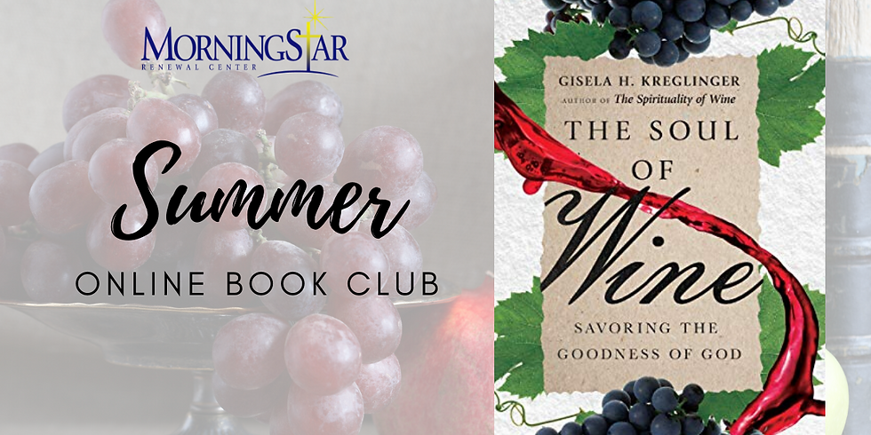 Online Book Club! Contact us if interested! Info@MorningStarRenewal.org