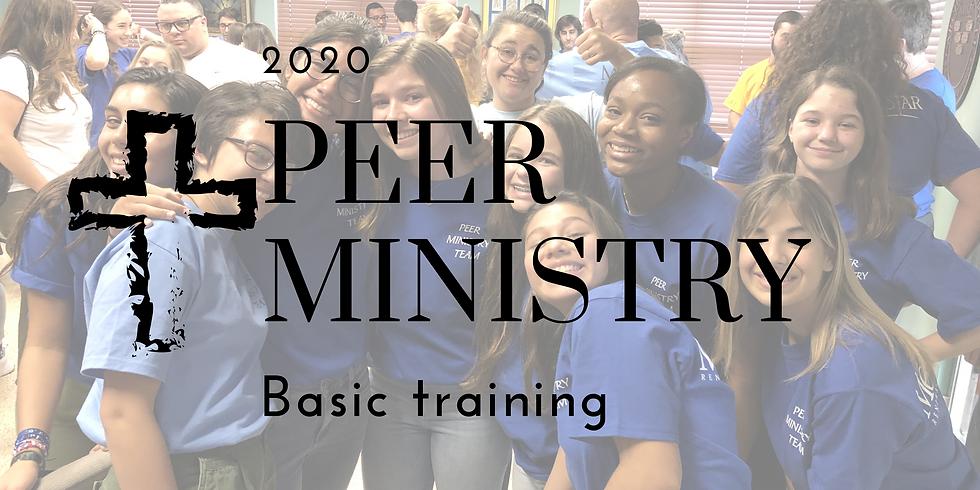 Peer Ministry Basic Training