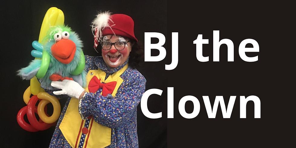 Bj the Clown Balloon Show- SATURDAY & SUNDAY