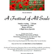 Festival of All Souls 2018