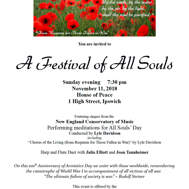 Festival of All Souls 2018
