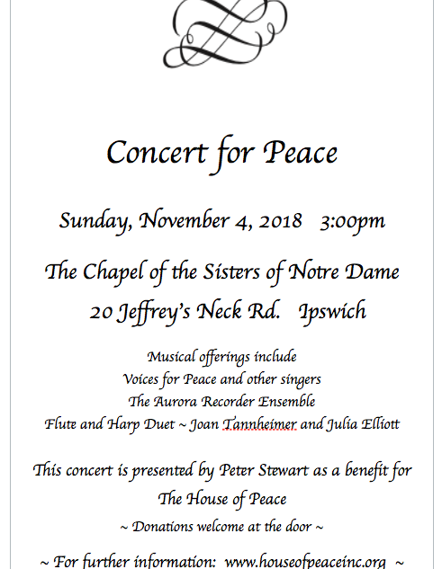 Concert for Peace 2018