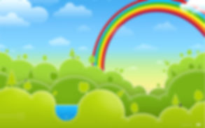 Vector-Green-Spring-Rainbow_1680x1050.jp
