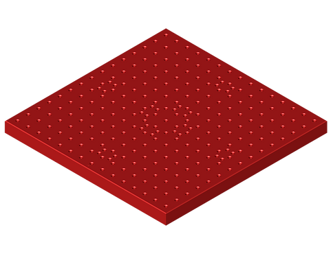 BP006-SI Base Plate (380mm x 380mm x 25mm)
