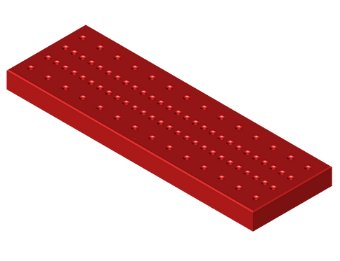 BP003-SI Base Plate  (114mm x 356mm x 25mm)