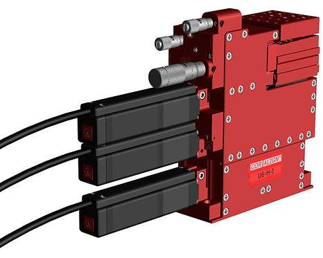 U6S Ultra XYZ/RYP Semi-Automated Positioner (XY/10nm Z/50nm)