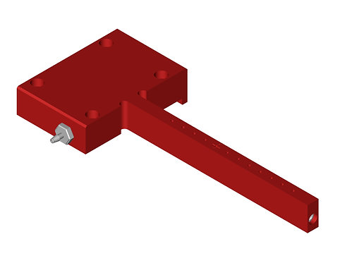 VPH009 Vacuum Part Holder 5x50x1.5mm substrate
