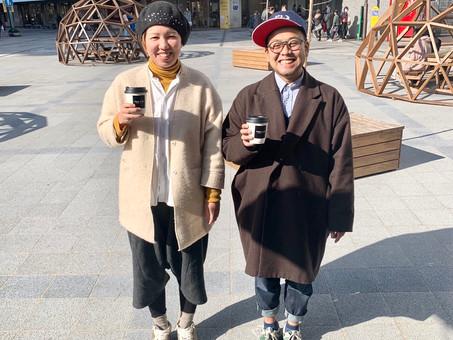北九州カフェ巡りと手ぬぐい