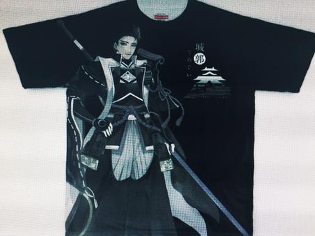 オリジナルTシャツを作ってみた!「城郭シリーズ」