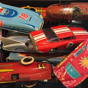 Brinquedos e corridas de outros tempos
