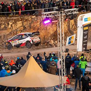 Evans dominou Rally da Suécia sem neve