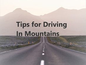 Tips for Driving In Mountains Safely
