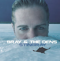 Bray and the Dens - Stingray - CD cover.