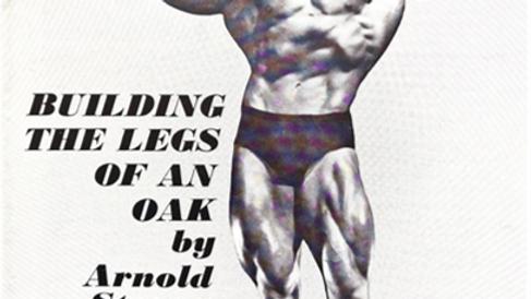 Building the Legs of an Oak by Arnold Schwarzenegger