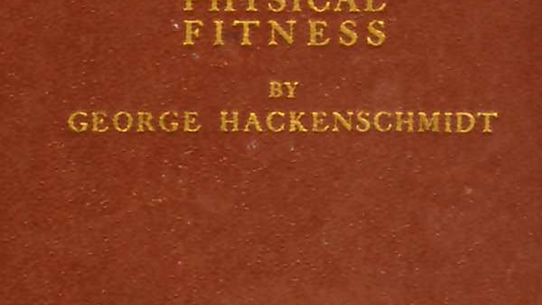 George Hackenschmidt's The Way to Live