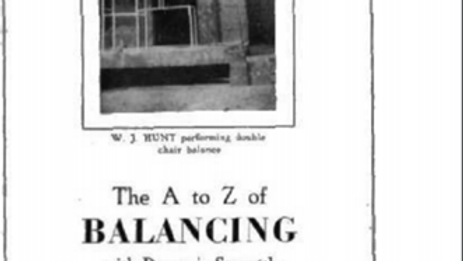 The A to Z of Balancing by W.J. Hunt
