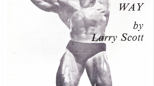 Herculean Thighs the Mr Universe Way Volume 2 by Larry Scott