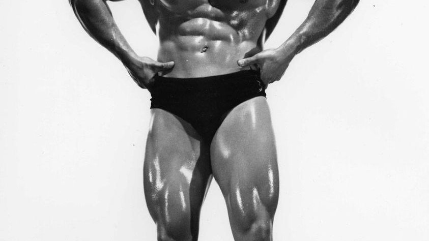 Autographed Marvin Eder Photo Front Lat Spread 1
