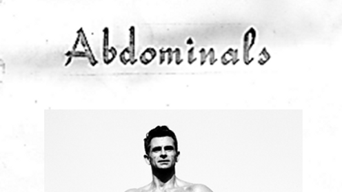 Vince Gironda on Abdominals eBook