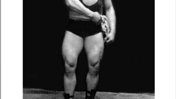 Lionel Strongfort's Light Dumbbell Courses