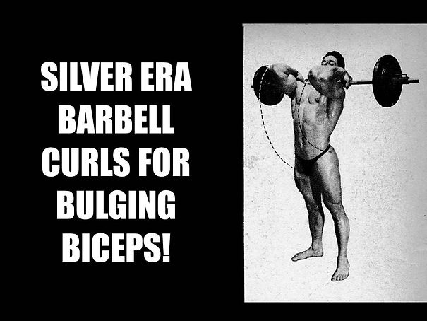THE ART OF BARBELL CURLING FOR BULGING B