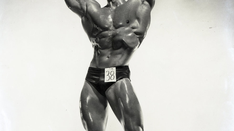 Don Howorth Autographed Photo Victory Pose