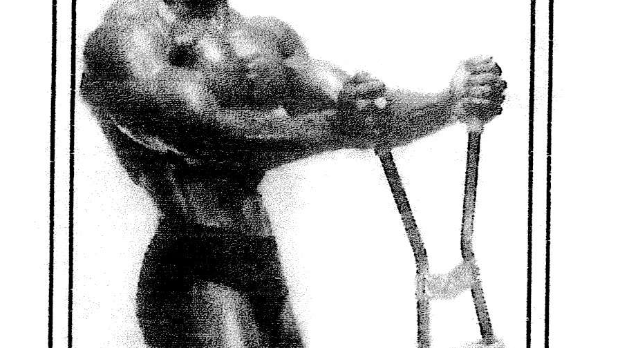 Weider's Super Strength Builder Serge Nubret