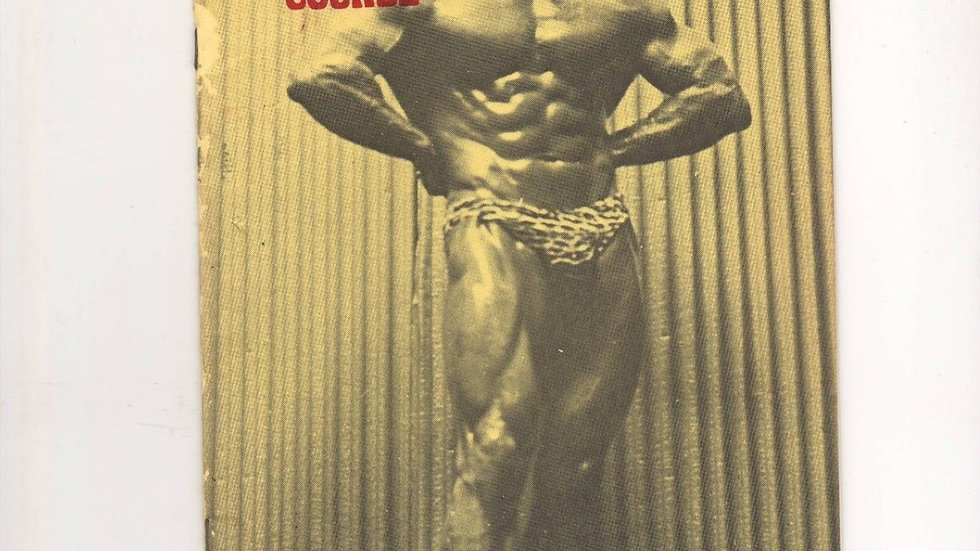 Vince Gironda's 6 week Bulk Course ebook