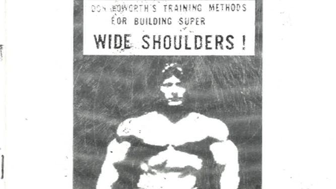 Don Howorth's Developing Dynamic Delts