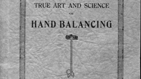 The True Art and Science of Hand balancing by Prof Paulinetti