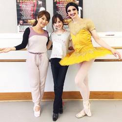 Japanese TV: Ballet & Interpreting