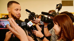【NBA】Stephen Curry Interview