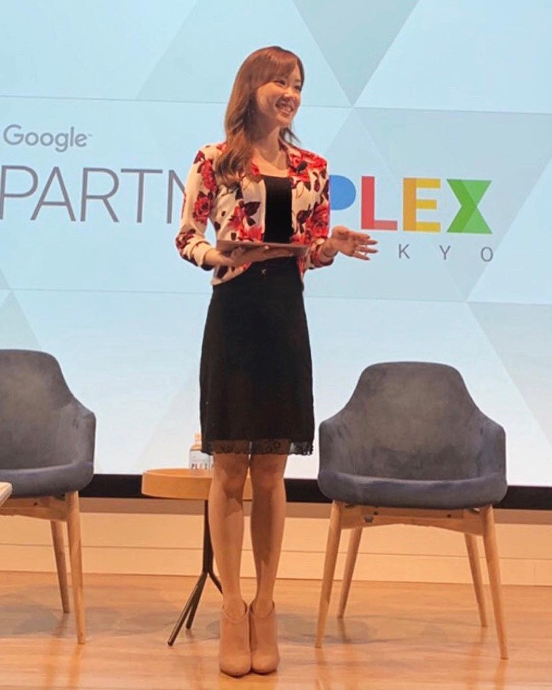 Emceeing at Google Partner Plex