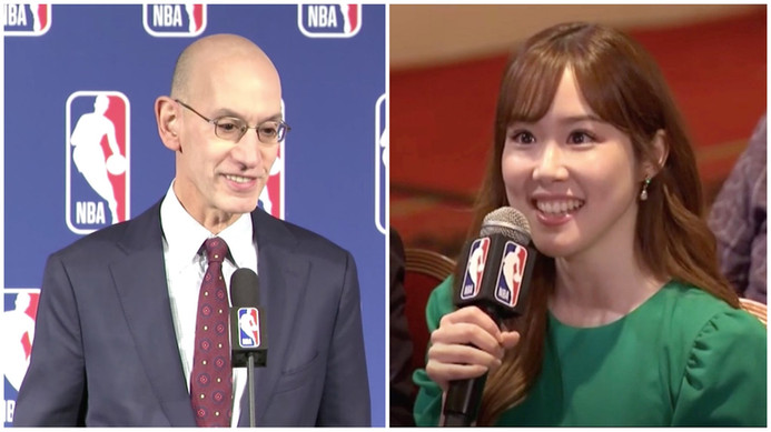 Interviewing NBA Commissioner Adam Silver