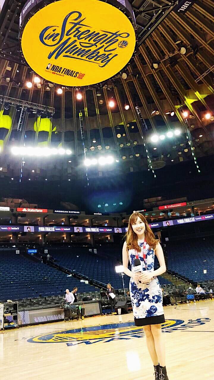 【Reporting at NBA Finals】