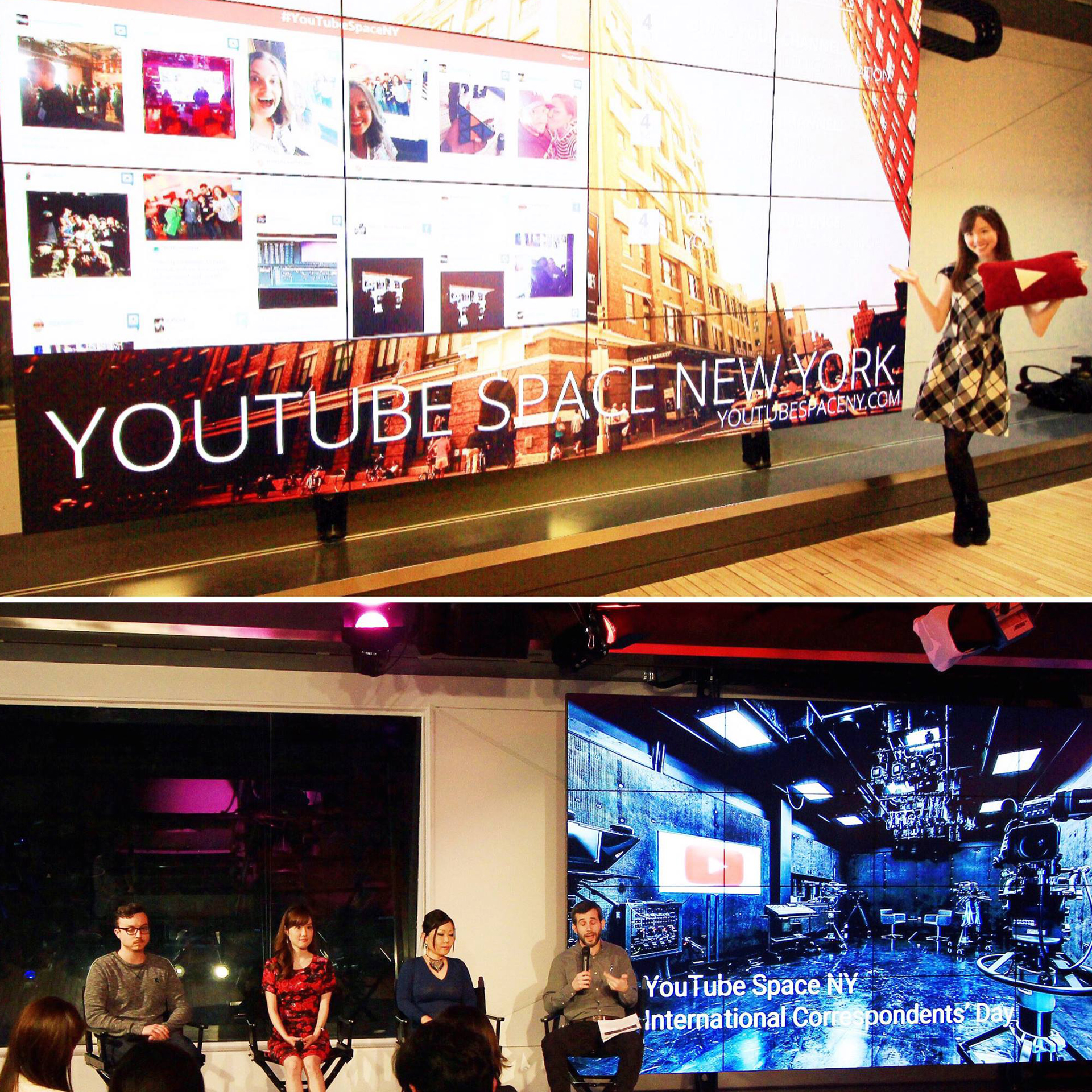 Guest Speaker at YouTube Space NY