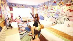 Hello Kitty Hotel Room PR