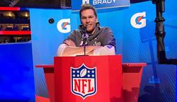 Super Bowl: Tom Brady Interview