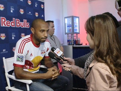 TV Interview: Soccer Legend Thierry Henry