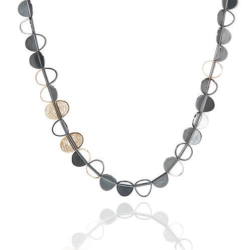 Unique Filigree Long Necklace