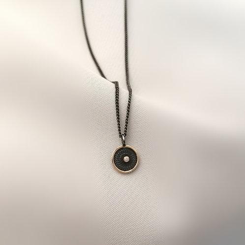 Filigree Diamond Pendant