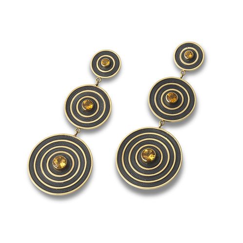 Statement Filigree Earrings