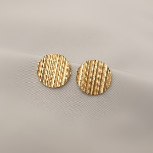 Large Textured Earrings