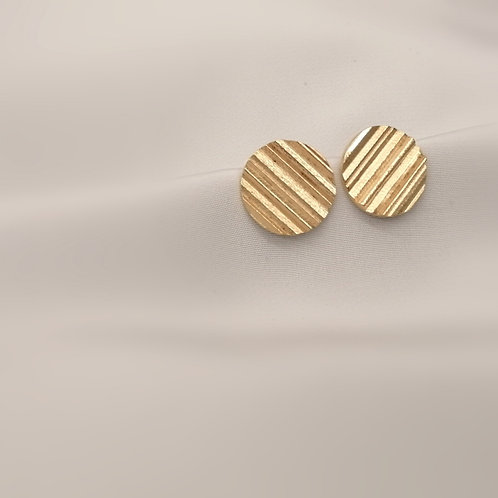 Medium Textured Earrings