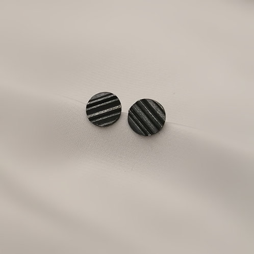 Small Textured Earrings